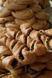 Plan rapproché des pâtisseries Photos stock