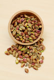 Plan rapproché des pistaches fraîches image libre de droits