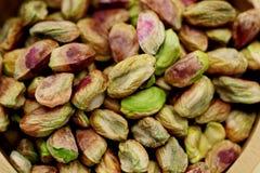 Plan rapproché des pistaches fraîches photo stock