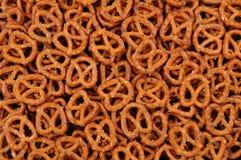 Plan rapproché des pretzels photographie stock