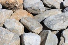 Plan rapproché des roches Photographie stock