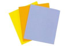 Plan rapproché des tissus absorbants superbes, tissu absorbant d'isolement dessus image stock
