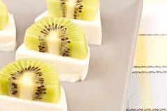 Casse-croûte de kiwi Images libres de droits