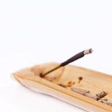 Plan rapproché du burning de bâton d'encens Photos libres de droits