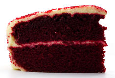 Plan rapproché du gâteau crème comme fond Photographie stock libre de droits