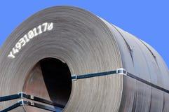 Plan rapproché en acier de bobine Photo libre de droits
