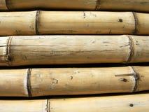Plan rapproché en bambou de texture Photographie stock libre de droits