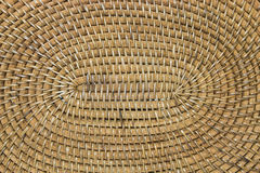 Plan rapproché en bambou tissé Photos stock