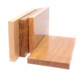 Plan rapproché en bois de la planche quatre photographie stock libre de droits