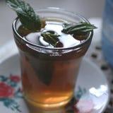 Plan rapproché en bon état de thé photographie stock