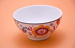 Pot en céramique décoré Image libre de droits