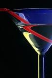 Plan rapproché en verre de cocktail Photo libre de droits