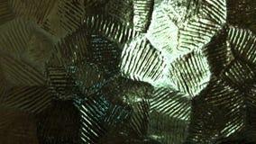Plan rapproché en verre texturisé de conception clips vidéos
