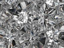 Plan rapproché et kaléidoscope extrêmes de structure de diamant Photographie stock