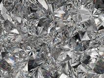 Plan rapproché et kaléidoscope extrêmes de structure de diamant Photo libre de droits