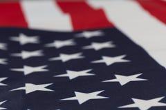 Plan rapproché extrême sur des étoiles de drapeau des Etats-Unis Photo stock
