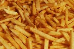 Plan rapproché frit de pomme de terre images libres de droits