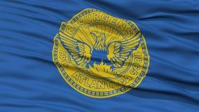 Plan rapproché Georgia Flag Photo libre de droits