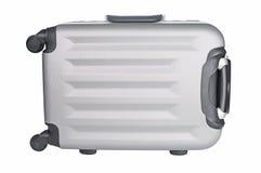 Plan rapproché gris de bagage de voyage images libres de droits