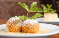 Plan rapproché hongrois délicieux de dessert Photographie stock