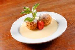 Plan rapproché hongrois délicieux de dessert Image libre de droits
