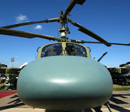 Plan rapproché militaire moderne d'hélicoptères Photographie stock libre de droits