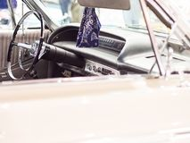 Plan rapproché moderne de voiture rapide Photographie stock libre de droits