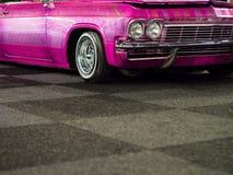 Plan rapproché moderne de voiture rapide Image libre de droits