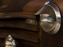 Plan rapproché moderne de voiture rapide Photo stock