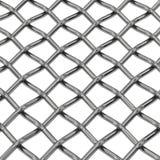 Plan rapproché net en acier de fil Image libre de droits