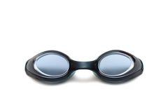 Plan rapproché noir de lunettes Photo libre de droits
