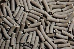 Plan rapproché noir de pâtes Image libre de droits
