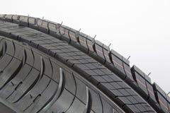 Plan rapproché noir de pneu Image libre de droits