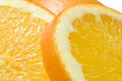 Plan rapproché orange (1) Image stock