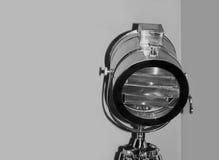 Plan rapproché pris par lumière d'étape de Chrome photographie stock