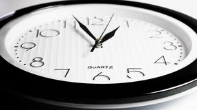 Plan rapproché rond d'horloge images libres de droits