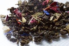 Plan rapproché sec de thé Photos libres de droits