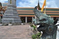 Plan rapproché Singha en Wat Pho Bangkok Photo libre de droits