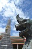 Plan rapproché Singha en Wat Pho Bangkok Photos stock