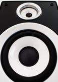 Plan rapproché sonore de haut-parleur Photo libre de droits