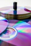 Plan rapproché sur des disques Photo stock