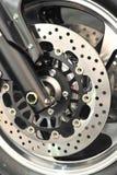 Disque aéré de frein de vélo Image stock