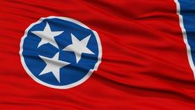 Plan rapproché Tennessee Flag, état des Etats-Unis Image stock
