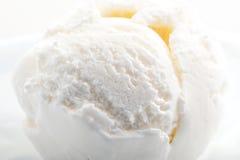 Plan rapproché texturisé de crème glacée  Images libres de droits
