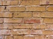 Plan rapproché texturisé de fond Vieux mur de briques brun-rougeâtre images libres de droits