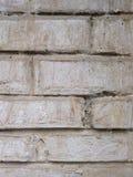 Plan rapproché texturisé gris de fond Vieille brique grise Image stock