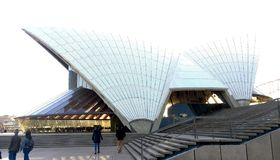 Plan rapproché tiré de Sydney Opera House image stock