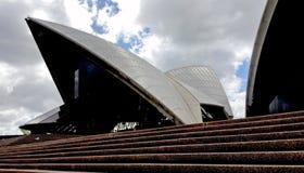 Plan rapproché tiré de Sydney Opera House photographie stock libre de droits