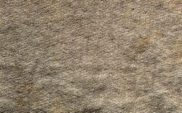 Plan rapproché usé de vêtement de coton Photo stock