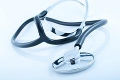 Plan rapproché d'un stetoscope Images stock